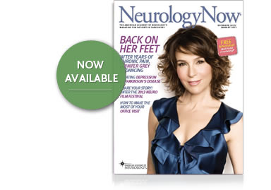 View Current Issue of NeurologyNow